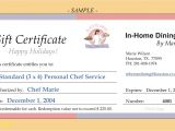 Wording for Gift Certificate Template Best Of Template for Gift Certificate Best Templates