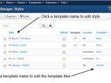 WordPress Email Template Manager J3 X Modifying A Joomla Template Joomla Documentation