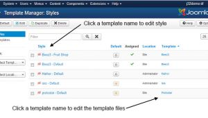 WordPress Email Template Manager J3 X Modifying A Joomla Template Joomla Documentation