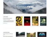 WordPress Templates for Authors 13 Book Publishers Author WordPress themes Templates