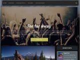 WordPress Templates for Musicians 15 Free Music WordPress themes Templates for Musicians