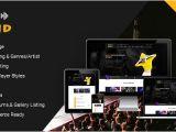 WordPress Templates for Musicians 36 Best Music WordPress themes Free Website Templates