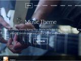 WordPress Templates for Musicians 70 Best Music WordPress themes Weelii