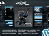 WordPress Templates for Musicians Bandzone WordPress theme Made by Musicians the Best