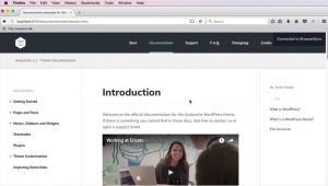 WordPress theme Documentation Template New Course Building A WordPress theme Documentation