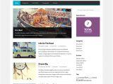 WordPress Video Blog Template Gopress Free WordPress News theme
