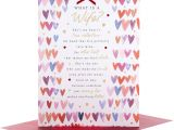 Words to Write In A Love Card Hallmark Wife Valentine S Day Card Love Of My Life Large