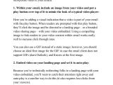 Work Experience Email Template Video Email Marketing Template