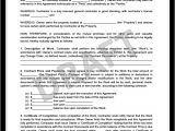 Work From Home Contract Template Create A Free Construction Contract Agreement Legal
