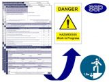 Working at Height Permit to Work Template Working at Heights Permits Next Day Delivery From Ssp