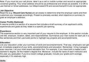 Wound Care Nurse Resume Sample Resume Service Ratings
