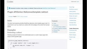 Wp Template Redirect An Alternative to the WordPress Template Redirect Hook