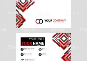 Write Name On Eid Card Letter Od Logo In Black which is Included In A Name Card or