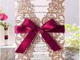 Write Name On Engagement Invitation Card Amazon Com Rose Gold Glitter Laser Cut Wedding Invitation