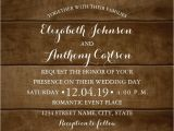 Write Name On Engagement Invitation Card Country Wood Lace Wedding Invitations Elegant Rustic