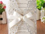 Write Name On Engagement Invitation Card Hosmsua 20x Laser Cut Lace Flora Wedding Invitation Cards