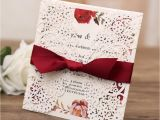 Write Name On Engagement Invitation Card White Gatefold Laser Cut Engagement and Weddding Invitation