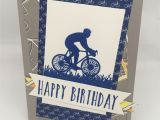 Write Name On Happy Birthday Card Bicycle Birthday Card with Enjoy Life and Best Route Dsp