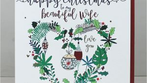 Write Name On Xmas Card 60 Christmas Message for Wife to Make Her Feeling Special