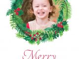 Write Name On Xmas Card Christmas Wreath Sleepymoon Cards
