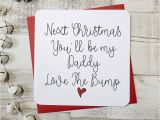 Write Name On Xmas Card Next Christmas You Ll Be My Daddy Script Card
