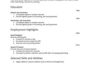 Writing A Basic Resume 32 Best Images About Resume Example On Pinterest Best