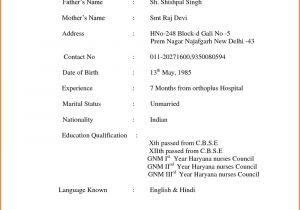 Writing A Basic Resume Basic Resume format Hudsonhs Me
