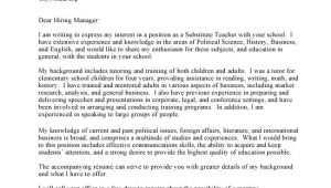 Writing A Cover Letter for An Academic Position Academic Cover Letter Sample Crna Cover Letter