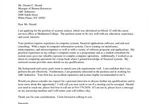 Writing A Cover Letter for College Admissions College Admission Cover Letter College Writing A Cover