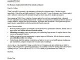 Writing A Cover Letter to A Company Business Analyst Cover Letter Sample Monster Com