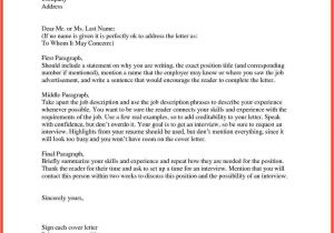 Writing A Cover Letter without A Contact Name How to Start A Cover Letter Memo Example