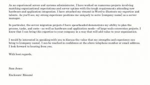 Writing An Outstanding Cover Letter Great Cover Letter Sample All About Letter Examples