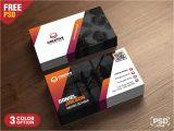 Www Creative Card Design Com Creative Business Card Design Template – Download Psd