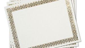 Www Gartnerstudios Com Certificates Templates Gartner Studios Gold Foil Certificate 15 Count 36004 S