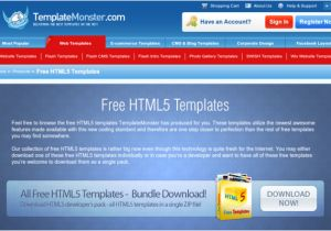 Www Templatemonster Com Free Templates 7 Resources for Free HTML5 Templates