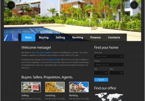 Www Templatemonster Com Free Templates Free Website Template for Real Estate with Justslider