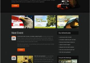 Www Templatemonster Com Free Templates Free Website Template for Youth organization Monsterpost