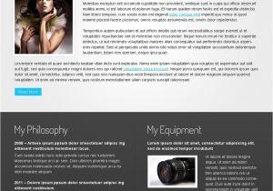 Www Templatemonster Com Free Templates Free Website Template Photographer 39 S Portfolio