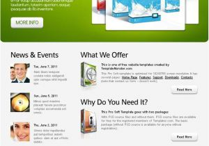 Www Templatemonster Com Free Templates Free Website Template with Jquery Carousel In the Header