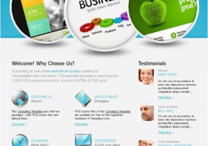 Www Templatemonster Com Free Templates Free Website Template with Jquery Slider for Consulting