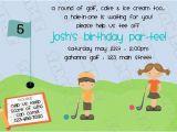 Www.uprint.com Templates Miniature Golf Putt Putt Birthday Party Printable Invitations