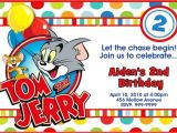 Www.uprint.com Templates tom and Jerry Birthday Party Invitations 24hr Service