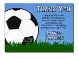 Www Wiltonprint Com Favor Templates soccer Thank You Card Template Gallery Template Design Ideas