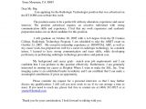 X Ray Tech Resume Sample Cover Letter for X Ray Technologist Radiologic