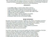 X-ray Tech Student Resume X Ray Technologist Resume Examples Resume Templates