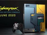 Xbox One X Graphics Card Name Xbox One X Cyberpunk 2077 Limited Edition Console Glows In