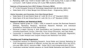 Xlri Student Resume Angshu 39 S Cv