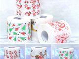 Xmas Wrapping Paper Card Factory Groa Handel Neue Weihnachtsmuster toilettenpapier Rolle Servietten Mode Lustig Humor Gag Weihnachtsdekoration Geschenke En Gros 6 Stil Von Qwonly Shop