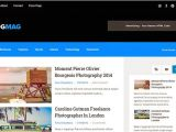 Xml Templates for Blogger Free Download Blogmag Clean Responsive Blogger Template Free Download