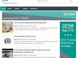 Xml Templates for Blogger Free Download Cetar High Ctr Responsive Blogger Template softdews